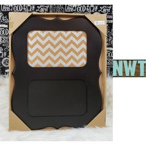 Chalkboard & Corkboard Hanging Wall Decor NWT